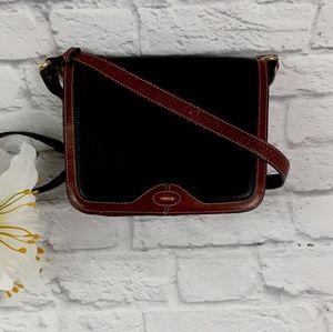 Vintage Bally leather crossbody bag